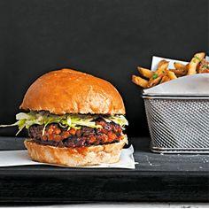Pork burger recipes uk