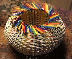 1/2 Day Project: happy rainbowbasket!
