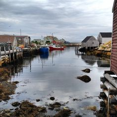 Peggy's Cove, Nova Scotia (been there - seen whale out at sea) Boat Building Plans, Boat Plans, Nova Scotia, Quebec, Places Around The World, Around The Worlds, Canada Country, Alaska, Immigration Canada