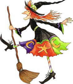 Halloween Witch, Clip Art, Going back to my Childhood ! Retro Halloween, Halloween Clipart, Halloween Pictures, Holidays Halloween, Halloween Themes, Halloween Crafts, Happy Halloween, Halloween Decorations, Halloween Witches