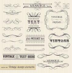 depositphotos_5342684-Vector-vintage-set-calligraphic-design-elements-and-page-decora.jpg (1009×1024)