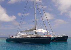 The best thing about the Privilege FELICIA, launched in 1999 is her English owner operators, Chris and Julie, who are now in their year operating FELICIA in the British Virgin Islands. British Virgin Islands, Felicia, Sailing Ships, New England, Caribbean, Knowledge, Boat, Fun, Consciousness