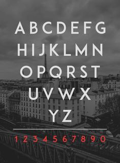 ADAM.CG PRO - Free Typeface by Shrenik Ganatra, via Behance
