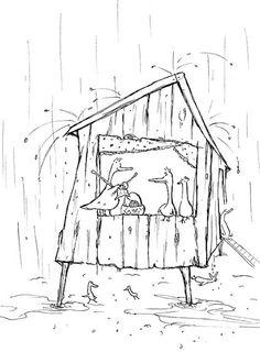 aftenoon rain by Joanne Lew Vriethoff