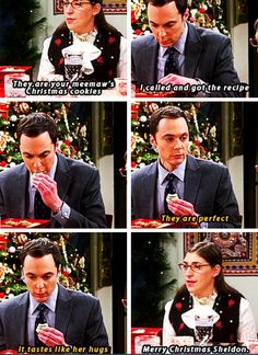 The Big Bang Theory ---- Awww they love each other so much!
