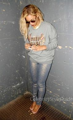 nice nice Seen on Celebrity Style Guide: Beyonce wore a embroidered and embellished 3.1 Phillip Lim Embro... Celebrity Style Check more at http://pinfashion.top/pin/70490/