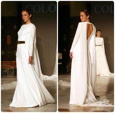 #vestido #novia #boda #colornude #dorado #oro #blanco
