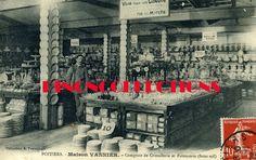 POITIERS - MAISON VANNIER - Comptoir de cristallerie et faïencerie. Date photo inconnue.