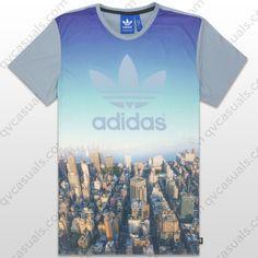 adidas Originals Mens City Summer Trefoil T-Shirt at QV casuals. Huge range of big brand tees.