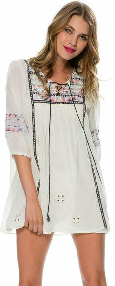 All Out Boho Cotton Tunic