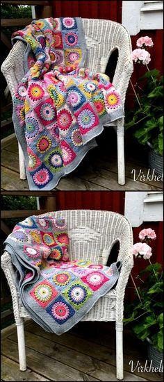 Stylish Designs of Crochet Patterns & Ideas - Diy 4 Craft Crochet Mat, Thread Crochet, Crochet Blanket Patterns, Cute Crochet, Crochet Crafts, Crochet Projects, Knitting Patterns, Yarn Inspiration, Modern Crochet