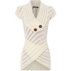 cable knit asymmetric jumper