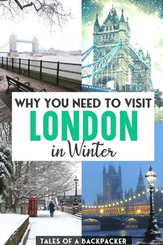 The Best Things to do in London in Winter - Although London is a wonderful city break at any visit of the year, visiting London in winter is a fun and unique experience. Here are my top tips for the best things to do in London in the winter, and how to prepare for your winter London vacation. | Christmas in London | New Years in London | London Winter Wonderland | London Travel Guide