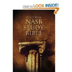 The Zondervan NASB Study Bible is hands-down the most comprehensive, up-to-date study Bible available in the New American Standard Bible translation.