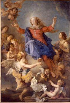 Charles de La Fosse (1636-1716) - L'Assomption de la Vierge – Nancy, Musée des Beaux-Arts