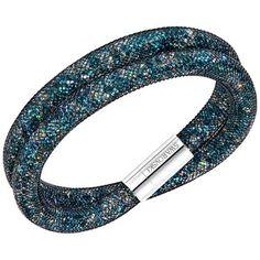 pulseras | pulseiras swarovski stardust green double 5189761