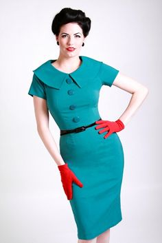 "This Rita Mae Dress is very ""Joan Harris"" from Mad Men on AMC don't ya think?- $109.99"