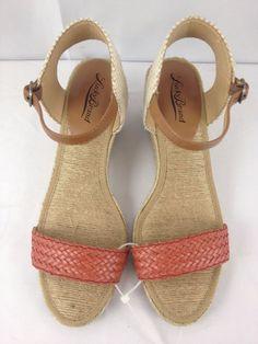 Lucky Brand Kavelli2 Espadrille Platform Wedge Sandals sz 8 M (38) #LuckyBrand #PlatformsWedges