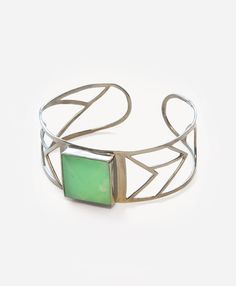 Chrysoprase Cuff - Noonday Collection