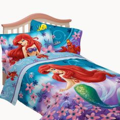 Bedroom Decor Ideas and Designs: Top Ten Disney's The Little Mermaid Themed Bedding Sets for Girls