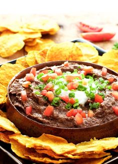 Smokin' Chipotle Black Bean Dip and Oil-Free Butternut Squash Chips are NOT your average chip and dip combo!