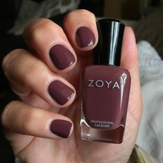"""73 Likes, 11 Comments - ᗩᒪIᑕIᗩ ᗰIᑎYᗩᖇᗪ (@buzymama5) on Instagram: """"""""Marney"""" on my nails this weekend! I love this transitional color for fall, although I'd wear it…"""""""