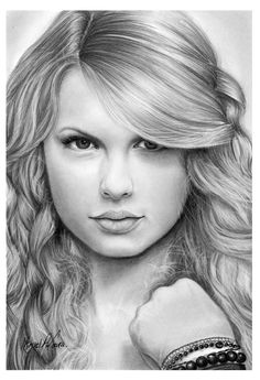 how to draw taylor swift - Google Search
