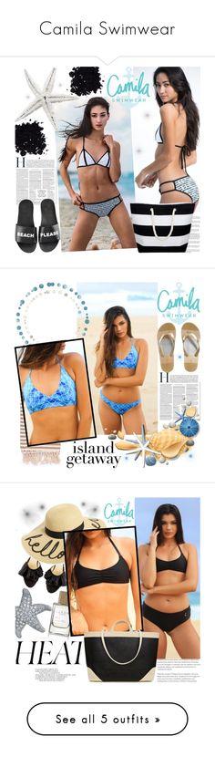 """Camila Swimwear"" by gaby-mil ❤ liked on Polyvore featuring Schutz, Summer, black, swimwear, handmade, camilaswimwear, Turkish-T, MICHAEL Michael Kors, Bling Jewelry and BP."