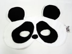 Máscara - Urso panda - Daniela Santos