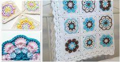 Flower African Blanket [Crochet Square]