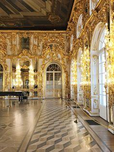 the gilded ballroom
