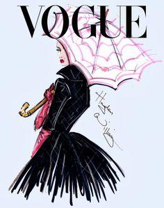Hayden Williams Fashion Illustrations: 'Eye Candy' by Hayden Williams