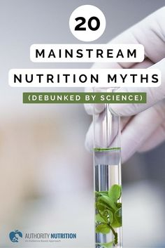 Mainstream nutrition is full of all sorts of nonsense. Here are 20 nutrition myths that have been debunked by science and plain common sense: http://authoritynutrition.com/20-mainstream-nutrition-myths-debunked/
