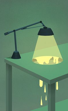 "Day 456 ""Lava Lamp"" by Matt Chinworth"
