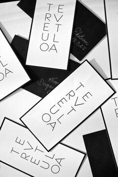 homevialaura black and white invitation card