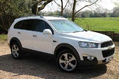 Used 2012 (12 reg) White Chevrolet Captiva 2.2 VCDi LTZ 5dr Auto [7 Seats] for sale on RAC Cars