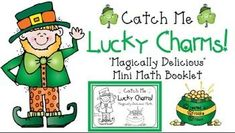 """Catch Me Lucky Charms"" Mini Math Booklet for Grades 2-4!"