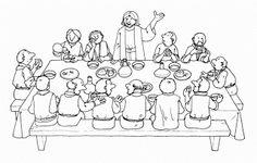 Last Supper Coloring Page . Last Supper Coloring Page . the Last Supper Free Coloring Pages Bible Story Crafts, Bible Crafts For Kids, Preschool Bible, Easter Coloring Pages, Bible Coloring Pages, Coloring Pages For Kids, Coloring Sheets, Religion Catolica, Easter Story