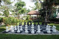#rethink_hotels Rethink hotels with Tablet. Provide lawn games for the guests to provide a garden party like feel.