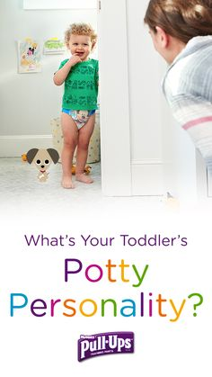 When it comes to the potty, is it impossible for your toddler to hide their excitement? If so, they may have the potty personality of a Puppy. Find out for sure by taking the Pull-Ups Potty Personality Quiz. Developed in conjunction with Dr. Heather Wittenberg, the quiz can help you discover your child's potty personality and the best way to partner with them as you train together.