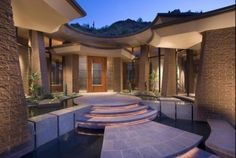 Circular Form - contemporary - entry - phoenix - Swaback Partners, pllc