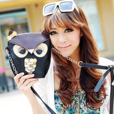 Cute Fox/Owl Women Shoulder Bag