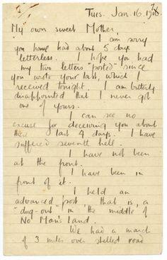 world war 1 poetry essay