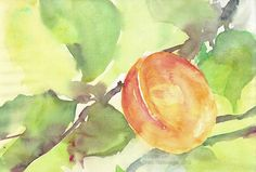 Sommer / Summertime / Verano / Été / 暑期 Painting, Watercolor Painting, Summer Time, Water Colors, Painting Art, Paintings, Painted Canvas, Drawings