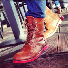 Enjoy your morning coffee #doca #fashion #shoes #greece #fall #winter#boots
