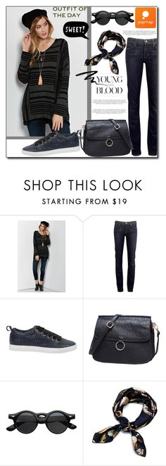 """POPMAP  81. / II"" by esma178 ❤ liked on Polyvore featuring Citizens of Humanity, ESPRIT, Eyeko, vintage and popmap"