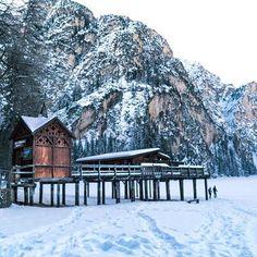 Das wohl bekannteste Bootshaus in Südtirol...