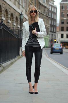 Looks con blazers gris claro - Trendtation