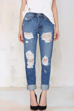 Loving these Nasty Gal Denim - The Ex Boyfriend | Shop Clothes at Nasty Gal!