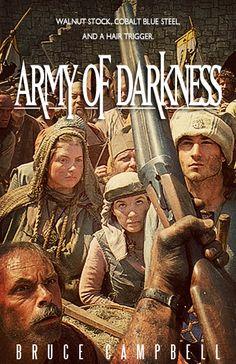 Army of Darkness (1992) ~ Alternative Movie Poster by Benjamin Capazo #amusementphile